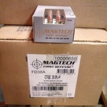 .38 SPECIAL +P MAGTECH FIRST DEFENSE 95 GRAIN SCHP (20 ROUNDS)