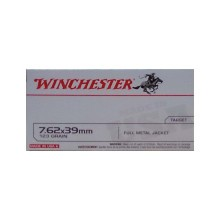 7.62X39MMWINCHESTER123 GRAIN FULL METAL JACKET(200ROUNDS)