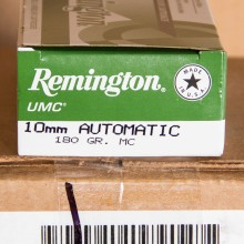 10MM AUTO REMINGTON UMC 180 GRAIN MC (50 ROUNDS)