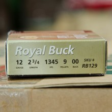 "12 GAUGE RIO ROYAL 2-3/4"" 00 BUCK (5 SHELLS)"