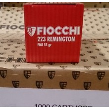223 REMINGTON FIOCCHI SHOOTING DYNAMICS 55 GRAIN FMJ (50 ROUNDS)