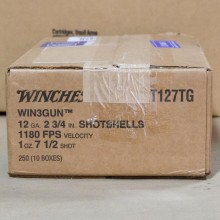 "12 GAUGE WINCHESTER WIN3GUN 2-3/4"" #7.5 SHOT (25 SHELLS)"