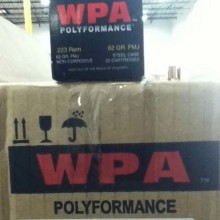 223 REMINGTON WOLF WPA POLYFORMANCE 62 GRAIN FMJ (20 ROUNDS)