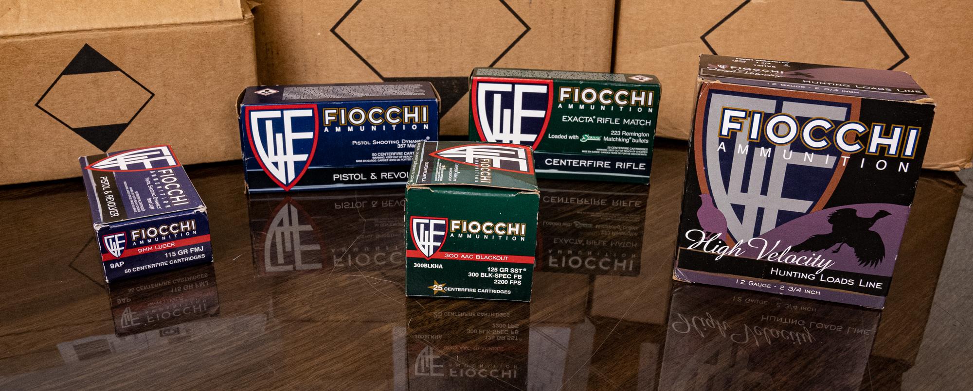 Fiocchi ammo in-stock at Ammoman.com