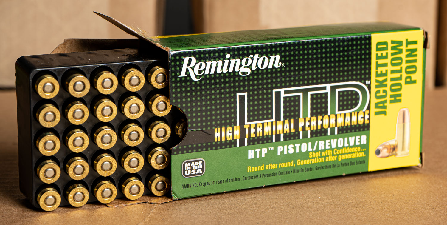 Remington HTP ammo box