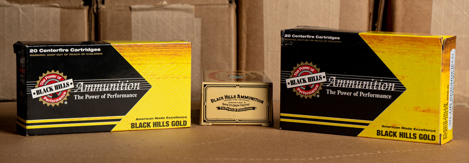 Black Hills ammo boxes