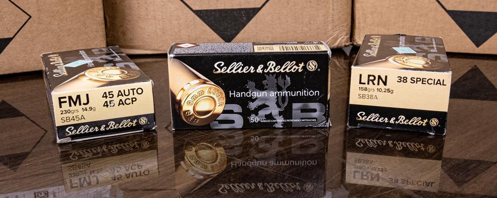 Bulk Sellier & Bellot ammo