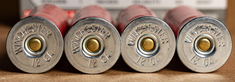 Winchester Super X shotgun shells close up
