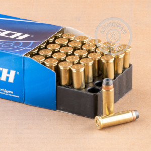 Photo of 38 Special semi-jacketed hollow-Point (SJHP) ammo by Magtech for sale at AmmoMan.com.