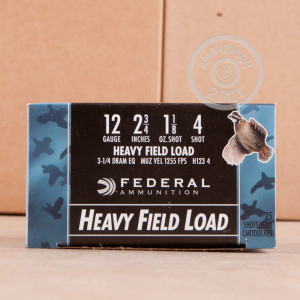 Great ammo for heavy game hunting, hunting turkey, upland bird hunting, these Federal rounds are for sale now at AmmoMan.com.