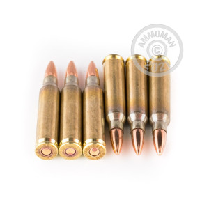 Photograph showing detail of 223 REM WOLF GOLD 55 GRAIN FMJ (1000 ROUNDS)