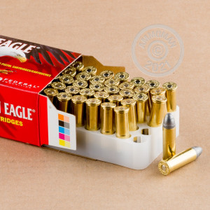 Image of Federal 38 Special pistol ammunition.