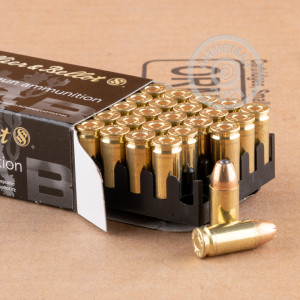 A photo of a box of Sellier & Bellot ammo in 9mm Luger.