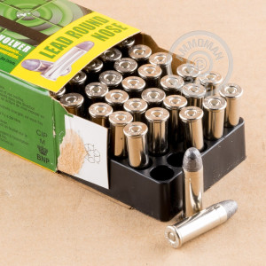 Photo of 38 Special Lead Round Nose (LRN) ammo by Remington for sale at AmmoMan.com.