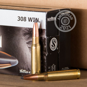 An image of 30.06 Springfield ammo made by Sellier & Bellot at AmmoMan.com.