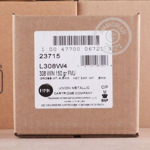 Image of 308 / 7.62x51 ammo by Remington that's ideal for training at the range.