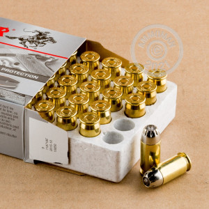 Image of .45 Automatic ammo by Winchester that's ideal for home protection.