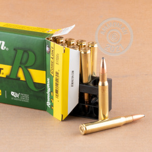 Photo of 30.06 Springfield Pointed Soft-Point (PSP) ammo by Remington for sale.