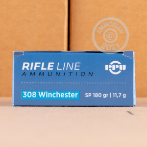 Photo of 308 / 7.62x51 soft point ammo by Prvi Partizan for sale.