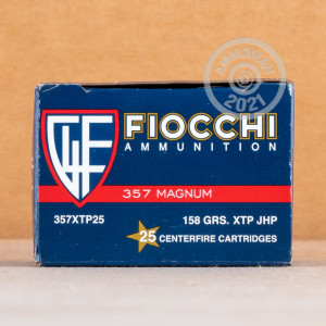 Photo of 357 Magnum XTP ammo by Fiocchi for sale at AmmoMan.com.