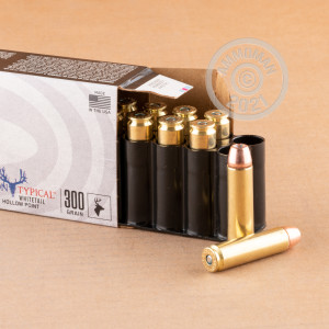 Photograph showing detail of 450 BUSHMASTER FEDERAL NON-TYPICAL 300 GRAIN JHP (200 ROUNDS)