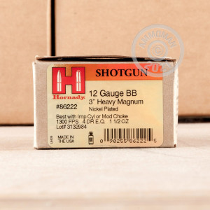 rounds ideal for heavy game hunting.