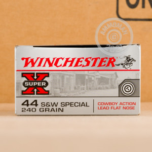 An image of 44 Special ammo made by Winchester at AmmoMan.com.
