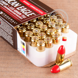 Photograph showing detail of 9MM FEDERAL SYNTECH 115 GRAIN TOTAL SYNTHETIC JACKET (50 ROUNDS)
