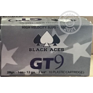 ammo made by Black Aces Tactical with a 2-3/4