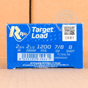 ammo made by Rio Ammunition with a 2-3/4