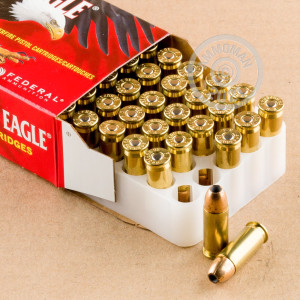 Photo of 38 Super JHP ammo by Federal for sale at AmmoMan.com.