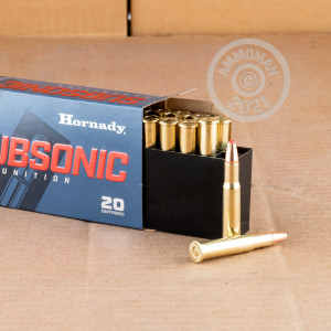 A photo of a box of Hornady ammo in 30-30 Winchester.