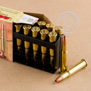 A photo of a box of Barnes ammo in 30-30 Winchester.