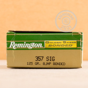 Photo of 357 SIG JHP ammo by Remington for sale at AmmoMan.com.