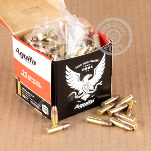 .22 Long Rifle ammo for sale at AmmoMan.com - 250 rounds.