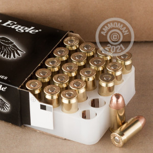 Image of .45 Automatic ammo by Federal that's ideal for training at the range.