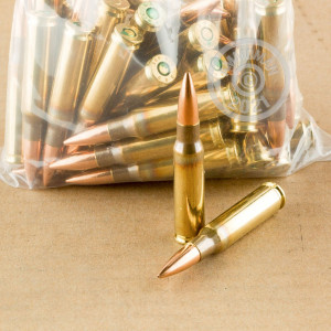 A photograph detailing the 308 / 7.62x51 ammo with Unknown bullets made by Mixed.