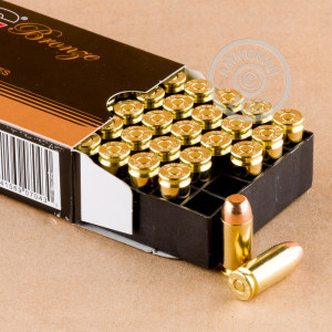 Image of .40 Smith & Wesson ammo by PMC that's ideal for precision shooting, shooting indoors, training at the range.