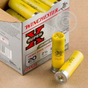Great ammo for shooting clays, upland bird hunting, these Winchester rounds are for sale now at AmmoMan.com.