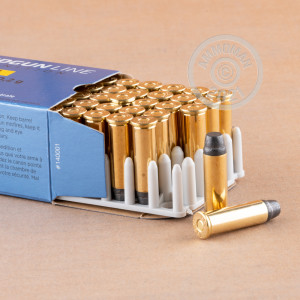 A photograph detailing the 38 Special ammo with semi-wadcutter bullets made by Prvi Partizan.