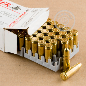 Photo of 7.62 x 25 FMJ ammo by Winchester for sale at AmmoMan.com.