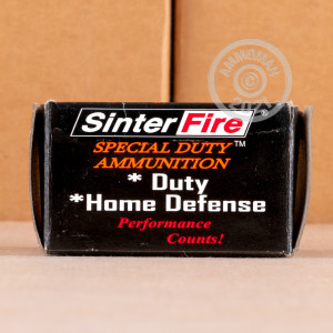 Photo of .40 Smith & Wesson JHP ammo by SinterFire for sale at AmmoMan.com.