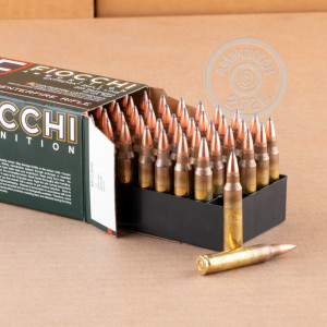 Image of the 223 REM FIOCCHI 55 GRAIN PSP (50 ROUNDS) available at AmmoMan.com.