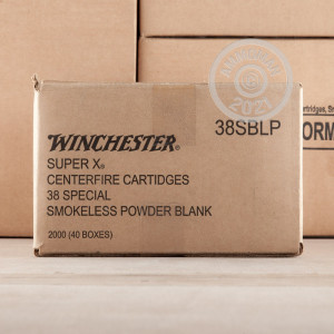 An image of 38 Special ammo made by Winchester at AmmoMan.com.