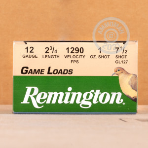 rounds ideal for upland bird hunting.