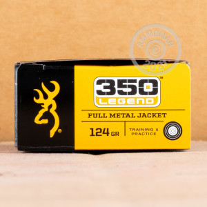 An image of 350 Legend ammo made by Browning at AmmoMan.com.
