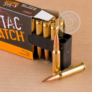 An image of 308 / 7.62x51 ammo made by PMC at AmmoMan.com.