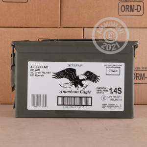 Photo of 308 / 7.62x51 FMJ-BT ammo by Federal for sale.