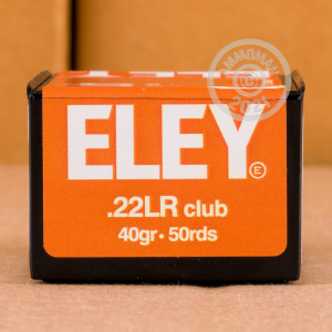 ammo made by Eley in-stock now at AmmoMan.com.