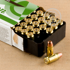 Image of 357 SIG ammo by Remington that's ideal for training at the range.